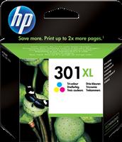 HP Tintenpatrone color CH564EE 301 XL ~330 Seiten 6ml HP 301XL Cyan/Magenta/Gelb Original Tintenpatr