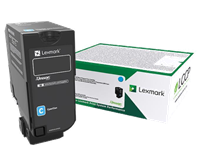 Lexmark Toner Cyan 75B20C0 ~10000 Seiten Rückgabe-Druckkassette