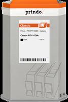 Prindo Tintenpatrone Schwarz PRICPFI102BK PFI-102 130ml Prindo CLASSIC: DIE Alternative, Top Qualitä