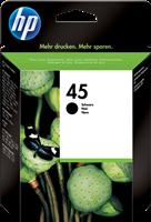 HP Tintenpatrone schwarz 51645AE 45 ~930 Seiten 42ml