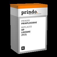 Prindo Tintenpatrone Schwarz PRIHPL0S58AE 953 ~1000 Seiten kompatibel mit HP L0S58AE (953)
