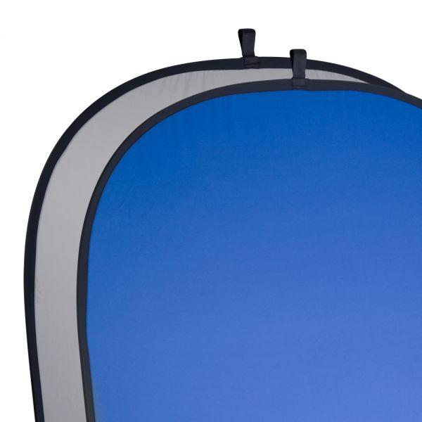 Miglior prezzo walimex Foldable Background gray/blue, 180x210cm -