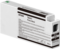 Epson Tintenpatrone Schwarz (Foto) C13T824100 T8241 350ml Ultrachrome HD, UltraChrome HDX