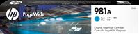 HP Tintenpatrone Cyan J3M68A 981A ~6000 Seiten