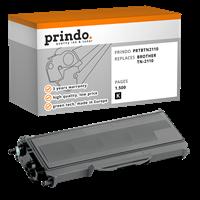 Prindo Toner schwarz PRTBTN2110 ~1500 Seiten kompatibel mit Brother TN-2110