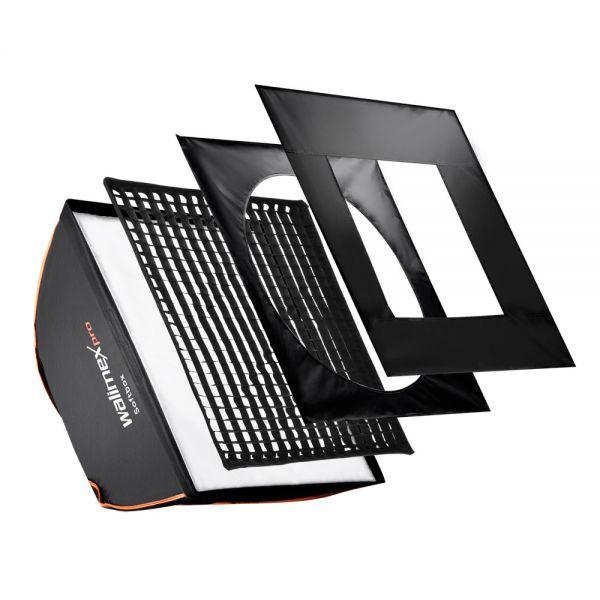 Walimex pro Softbox PLUS OL 60x60cm Aurora/Bowens
