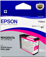 Epson Tintenpatrone magenta C13T580300 T5803 80ml