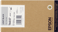 Epson Tintenpatrone schwarz (hell) C13T603700 T6037 220ml