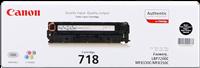 Canon Toner schwarz 718 BK 2662B002 ~3400 Seiten