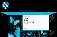 HP Tintenpatrone gelb C9373A 72 130ml