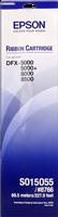 Epson Farbband schwarz C13S015055 8766 Gewebefarbband, 15 Millionen Zeichen