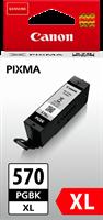 Canon Tintenpatrone schwarz PGI-570pgbk XL 0318C001 22ml