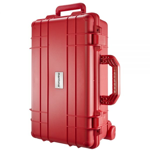 Mantona Outdoor Schutz-Trolley, rot