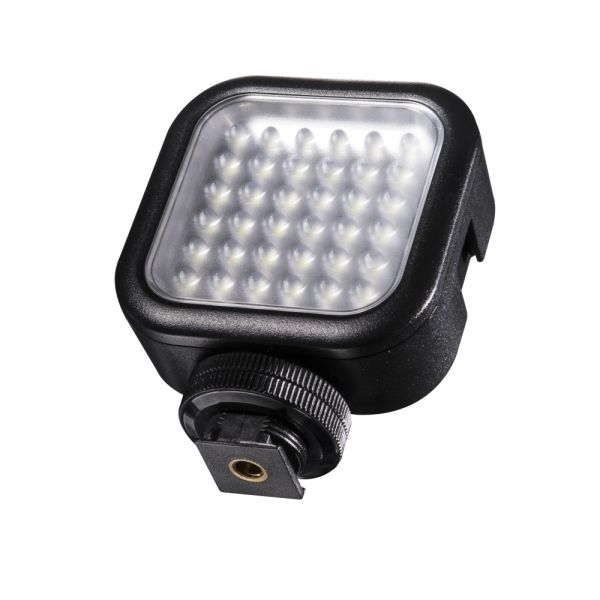 Walimex pro LED Foto Video Leuchte 36 LED dimmbar