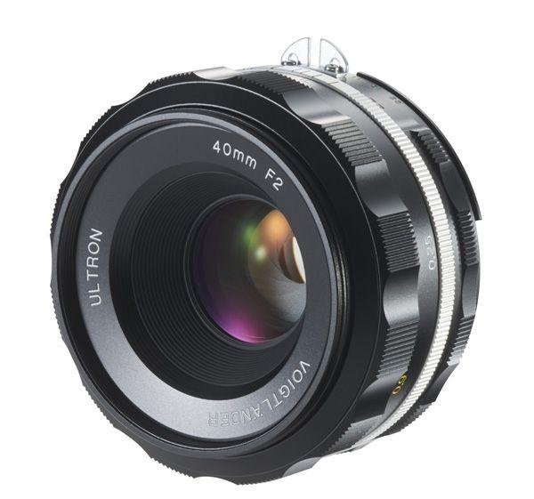 Voigtländer Ultron 2,0/40mm schwarz asph SLII-S AIS (Nikon) Objektiv