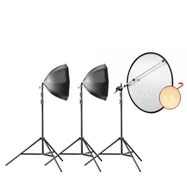 Walimex pro Daylight 250 Portrait Octa Basic Set