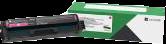 Lexmark Toner Magenta C332HM0 ~2500 Seiten Rückgabe-Druckkassette, hohe Kapazität