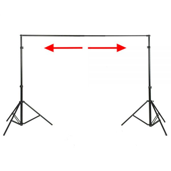 Walimex XXL Hintergrundsystem, 190-465cm