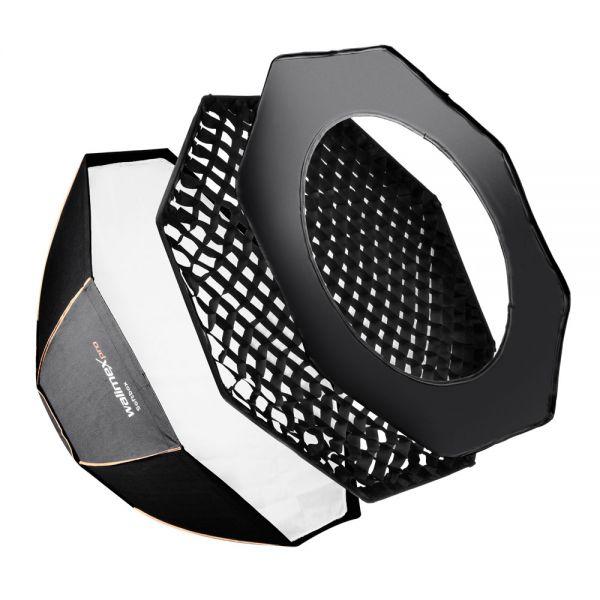 Miglior prezzo walimex pro Octagon Softbox/Bank ottagonale PLUS OL Ø90 Electra -