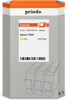 Prindo Tintenpatrone Gelb PRIET7024 T7024 ~2000 Seiten Prindo CLASSIC: DIE Alternative, Top Qualität