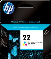 HP Tintenpatrone color C9352AE 22 ~165 Seiten 6ml