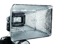 Falcon Eyes Softbox Silber ESA-SB2030S 20x30 cm für Speedlite Kamerablitz