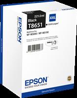 Epson Tintenpatrone schwarz C13T865140 T8651 ~10000 Seiten 221ml XXL