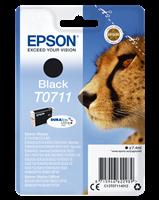 Epson Tintenpatrone schwarz C13T07114012 T0711 ~245 Seiten 7.4ml C13T07114011