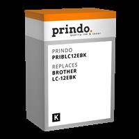 Prindo Tintenpatrone Schwarz PRIBLC12EBK LC-12 ~2400 Seiten Prindo CLASSIC: DIE Alternative, Top Qua