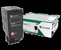 Lexmark Toner Magenta 75B20M0 ~10000 Seiten Rückgabe-Druckkassette
