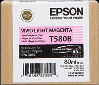 Epson Tintenpatrone magenta (hell, vivid) C13T580B00 T580B 80ml