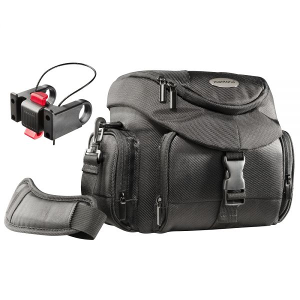 Miglior prezzo mantona Set Premium Biker Photo Bag incl. Adapter -