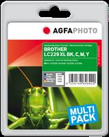 Agfa Photo Multipack Schwarz / Cyan / Magenta / Gelb APB229SETD Agfa Photo LC229XLVALBPDR