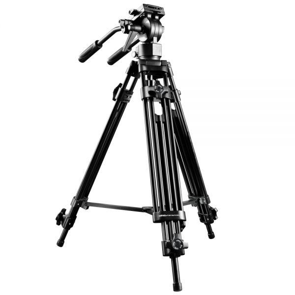 Miglior prezzo walimex pro EI-9901 treppiede-Video-Pro 138cm -
