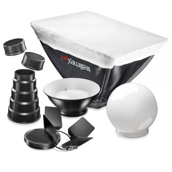 Miglior prezzo walimex kit diffusori per SonyF32X/Canon430EX -