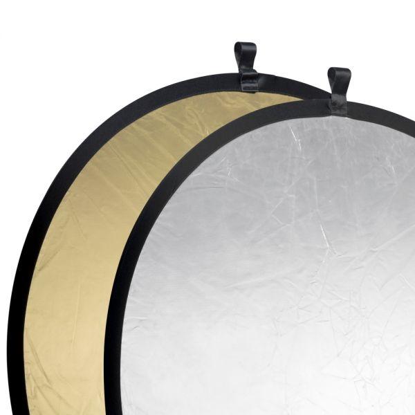 Walimex pro Faltreflektor gold/silber, ?107cm