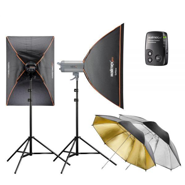 Miglior prezzo VC Excellence Studiokit Classic 6.4 flash da studio -