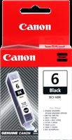 Canon Tintenpatrone schwarz BCI-6bk 4705A002 ~280 Seiten 13ml