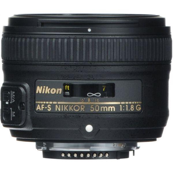 Nikon Obj. AF-S 50mm 1.8G