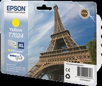 Epson Tintenpatrone gelb C13T70244010 T7024 ~2000 Seiten XL