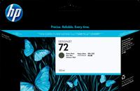 HP Tintenpatrone schwarz (matt) C9403A 72 130ml