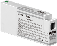 Epson Tintenpatrone Schwarz (hell) C13T824700 T8247 350ml Ultrachrome HD, UltraChrome HDX