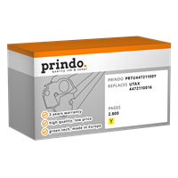 Prindo Toner gelb PRTU44721100Y ~2800 Seiten kompatibel mit Utax 4472110016