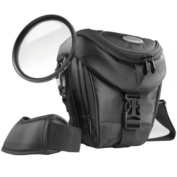 Mantona Premium Colttasche+UV Filter MC slim 58mm