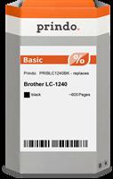 Prindo Tintenpatrone schwarz PRIBLC1240BK LC-1240 ~600 Seiten Prindo BASIC: DIE preiswerte Alternati