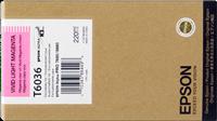 Epson Tintenpatrone magenta (hell, vivid) C13T603600 T6036 220ml
