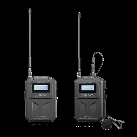 Boya UHF Dual Lavalier-Mikrofon Drahtlos BY-WM6S