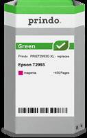 Prindo Tintenpatrone Magenta PRIET2993G Green ~450 Seiten Prindo GREEN: Recycelt & aufwendig aufbere