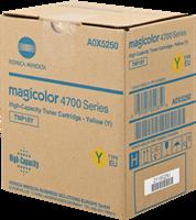 Konica Minolta Toner gelb A0X5250 TNP18Y ~4500 Seiten