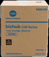 Konica Minolta Toner schwarz A0X5152 TNP22K ~6000 Seiten